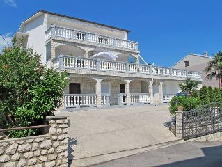 Apartment Haus Brzic  in Crikvenica, Kvarner Bay - 7 persons, 4 bedrooms