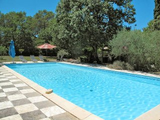 Vacation home in Lorgues, Cote d'Azur hinterland - 10 persons, 5 bedrooms