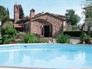 Ferienhaus Villa Aia  in San Gimignano, Siena ( Region) - 7 Personen, 3 Schlafzi