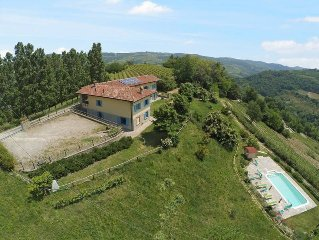 Vacation home Agriturismo La Rovere  in Cossano Belbo, Piedmont - 16 persons, 7