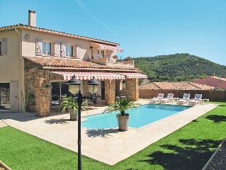 Vacation home in Taradeau, Cote d'Azur hinterland - 8 persons, 4 bedrooms
