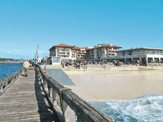 Apartment Résidence L'Estacade  in Capbreton, Aquitaine - 4 persons, 1 bedroom