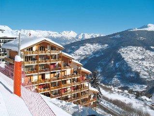 Ferienwohnung in Les Collons, 4 Vallees - 8 Personen, 3 Schlafzimmer