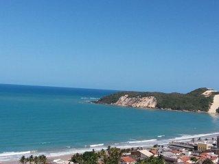 ES - Paradise Flat com linda vista para toda orla em Ponta Negra