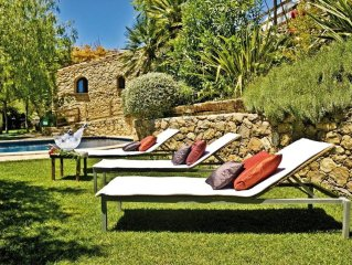 Masia Cal Simo, piscina, chill out, playa, BBQ, 10 min Sitges.