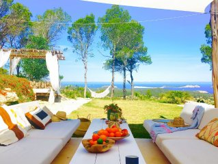 Extraordinary Blue Hill House Ibiza