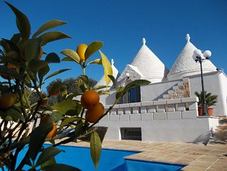Luxury Trullo With Private Pool In Great Location To Explore The Area