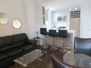 Incredible 2 BR** Unreal Views ** Luxury Bldg ** Close to Everything in NYC