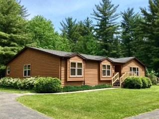 Trails End * Spring Brook Resort-Creekside Vacation Home w/ Scenic Natural View
