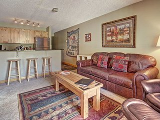 FP114 Amazing Ski in-out Condo With Mountain Views
