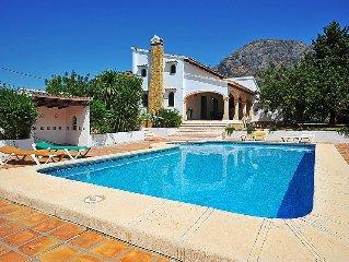 Vacation home Valls Tosals  in Javea, Costa Blanca - 6 persons, 3 bedrooms