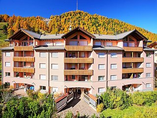 Apartment Chesa Sur Val 13  in St. Moritz, Engadine - 4 persons, 1 bedroom