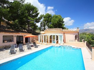 Vacation home Casa Eole  in La Nucia, Costa Blanca - 6 persons, 3 bedrooms