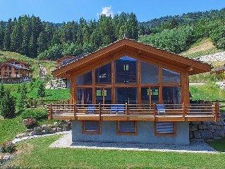 Ferienhaus Chalet Tubber  in La Tzoumaz, Wallis - 10 Personen, 5 Schlafzimmer