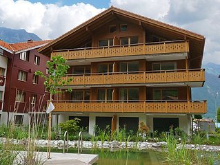 Apartment Langenberg  in Iseltwald, Bernese Oberland - 5 persons, 3 bedrooms