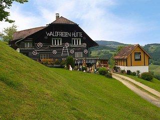 Ferienhaus Waldfriedenhütte  in Sankt Michael im Lavanttal, Kärnten - 6 Personen
