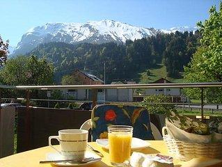Ferienwohnung Blumenweg 2  in Engelberg, Zentralschweiz - 4 Personen, 1 Schlafzi