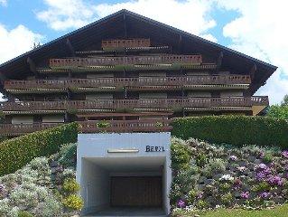 Apartment Le Beryl  in Villars, Alpes Vaudoises - 4 persons, 2 bedrooms