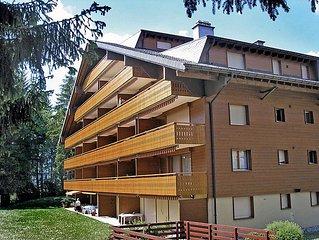 Ferienwohnung Azurite 12  in Villars, Waadtlander Alpen - 4 Personen, 1 Schlafzi