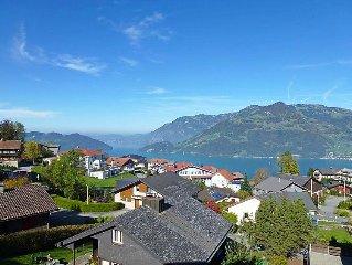 Apartment Mansalo  in Emmetten, Central Switzerland - 4 persons, 1 bedroom