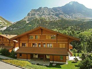 Ferienwohnung Eiger  in Grindelwald, Berner Oberland - 6 Personen, 3 Schlafzimme