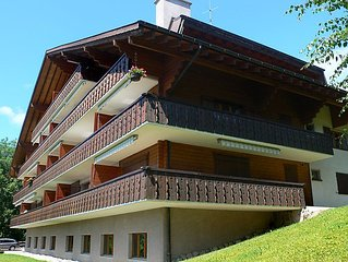 Apartment Ambassadeur 15  in Villars, Alpes Vaudoises - 4 persons, 2 bedrooms