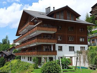 Apartment Bella Vista  in Wengen, Bernese Oberland - 6 persons, 3 bedrooms