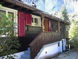 Ferienwohnung Stocki  in Lauterbrunnen, Berner Oberland - 4 Personen, 1 Schlafzi