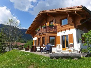 Vacation home Chalet Petit Pont  in Villars, Alpes Vaudoises - 10 persons, 5 be