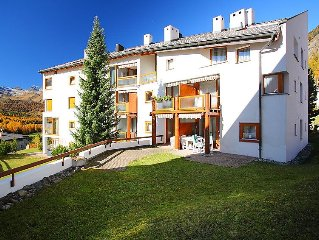 Apartment Chesa Piz Cotschen  in Pontresina, Engadine - 4 persons, 1 bedroom
