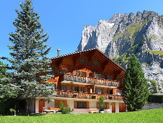 Apartment Chiebrendli  in Grindelwald, Bernese Oberland - 2 persons, 1 bedroom
