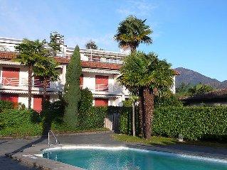 Ferienwohnung Collina Verde B  in Ascona, Tessin - 4 Personen, 2 Schlafzimmer