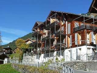 Apartment Breithorn-Residence  in Wengen, Bernese Oberland - 2 persons, 1 bedro
