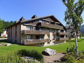 Ferienwohnung Parkhotel Arvenbuhl  in Amden, Ostschweiz - 4 Personen, 1 Schlafzi