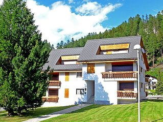 Apartment Chesa Rosatsch  in Silvaplana - Surlej, Engadine - 4 persons, 2 bedro