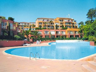 Ferienwohnung Residence Horizon Bleu  in Theoule - sur - Mer, Cote d'Azur - 4 Pe
