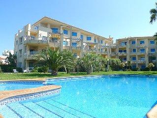 Apartment Las Dunas  in Denia, Costa Blanca - 4 persons, 2 bedrooms
