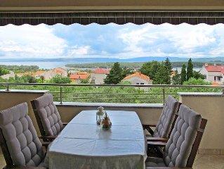 Apartment Haus Sulina  in Punat / Krk, Isle of Krk - 4 persons, 1 bedroom