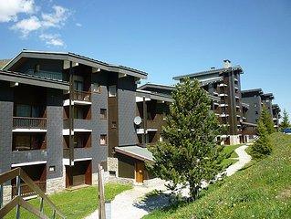 Apartment Le Jetay  in Les Menuires, Savoie - Haute Savoie - 4 persons, 1 bedro