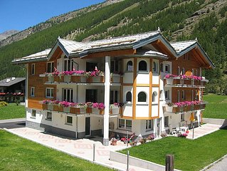 Vacation home Haus Alpenstern, Wohnung Aelpi  in Saas - Grund, Valais - 4 perso