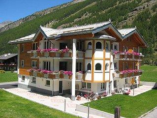 Vacation home Haus Alpenstern, Wohnung Aelpi  in Saas - Grund, Valais - 4 perso