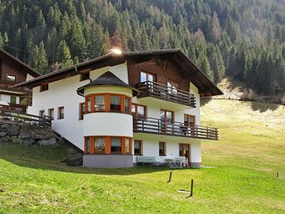 Apartment Landhaus Ines  in Kappl, Paznaun Valley - 6 persons, 2 bedrooms