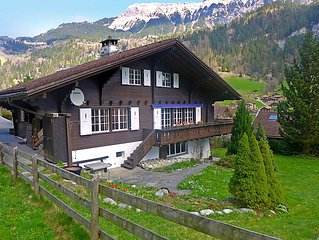 Vacation home Chalet am Schärm  in Lauterbrunnen, Bernese Oberland - 12 persons