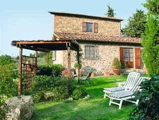 Vacation home Tenuta di Vignole  in Panzano in Chianti (FI), Florence and surro