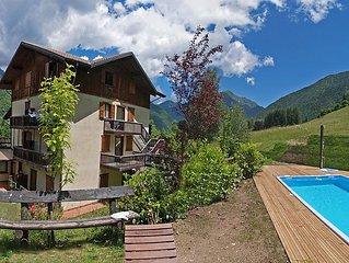 Ferienwohnung Lembondel  in Tiarno di Sotto, Ledrosee - 4 Personen, 1 Schlafzimm