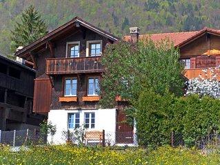Vacation home Husli  in Brienzwiler, Bernese Oberland - 4 persons, 1 bedroom