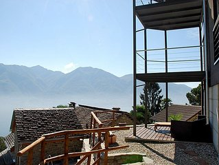 Vacation home Loft - Villa  in Brione sopra Minusio, Ticino - 4 persons, 2 bedr