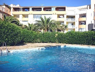 Apartment Savanna Beach I  in Cap d'Agde, Herault - Aude - 4 persons, 2 bedrooms