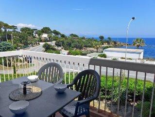 Ferienwohnung FRONT DE MER  in Saint Aygulf, Cote d'Azur - 4 Personen, 1 Schlafz