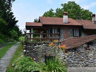 Ferienhaus Casa Mulino  in Castelveccana, Lago Maggiore - 4 Personen, 1 Schlafzi